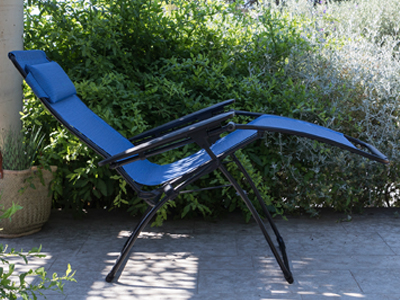 Lafuma Furniture is the inventor of relaxation chairs