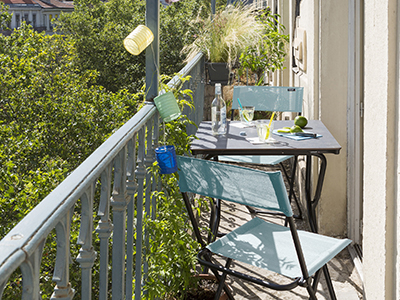 How to set up a small balcony Ideas and advice ?