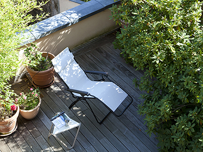 4 suggestions for setting up a rooftop terrace