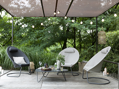 What are the garden furniture trends in 2019?