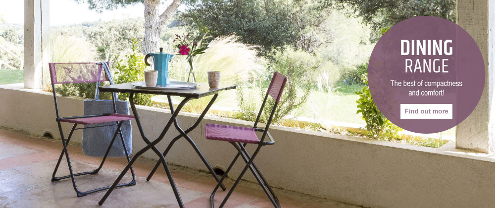 Lafuma Mobilier UK - balconies dining