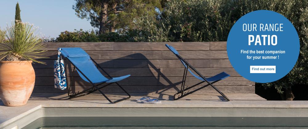 Lafuma Mobilier UK - patio poolside (transat)